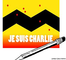 Je Suis Charlie To Benefit Charlie Hebdo  by Rick  London