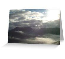 Heavenly sky Greeting Card