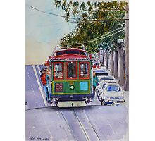 San Francisco Cablecar Photographic Print