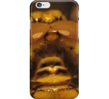 Back View Of A Dragon Fly's Head iPhone Case/Skin