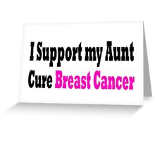 Breast Cancer Greeting Card