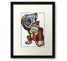 DK holding turbo Framed Print