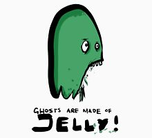 ghosts are made of jelly Womens Fitted T-Shirt