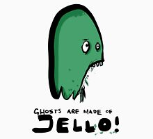 ghosts are made of jello (Americanised version) Womens Fitted T-Shirt
