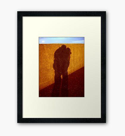 snog on the promenade Framed Print