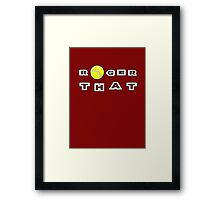 Roger That - Tennis Masters Framed Print