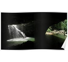 natural bridge - Australia Poster