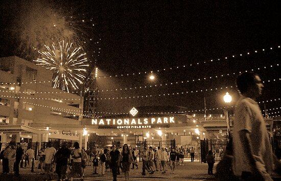 National's Fireworks by DavidBerry