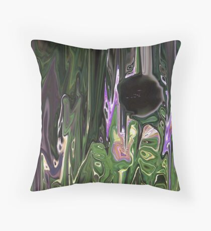 The hole in there Throw Pillow
