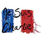 Jes Suis Charlie Hebdo Vive La France by Jacob King