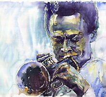 Jazz Miles Davis 10 by Yuriy Shevchuk