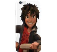 transparent hiro hamada iPhone Case/Skin