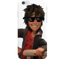 transparent hiro hamada with swag iPhone Case/Skin