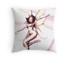 The runaway princess fairy Throw Pillow