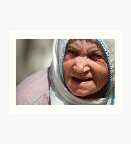 Turkish Grandmother Art Print
