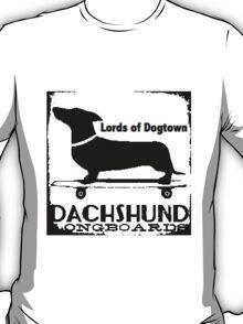 Hot Dog Dacschund Skater T-Shirt