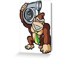 JDM DK holding turbo Greeting Card