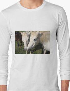 Camargue Horses Long Sleeve T-Shirt