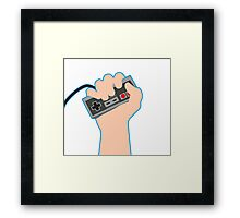 Nintendo Power! Framed Print