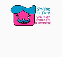 Smiling is Fun Womens Fitted T-Shirt