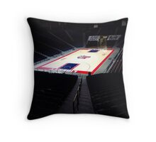 Liberty University Basketball Stadium Throw Pillow
