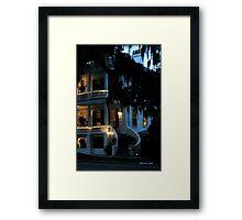 Evening at Rhett House Inn Framed Print