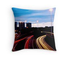 Glasgow M8 Throw Pillow