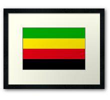 bamileke flag Framed Print