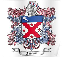 Anderson Family Crest 2 Poster