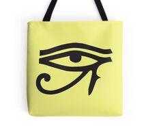 Eye of Horus Lemon Tote Bag