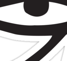 Eye of Horus Lemon Sticker