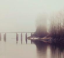 Fog on the Slough | Dewdney Bridge by Tamara Brandy