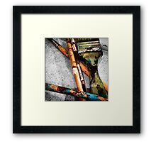 Brush Strokes  Framed Print