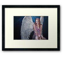 Imagine Angel Framed Print