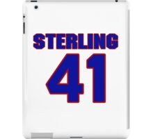 National baseball player Sterling Hitchcock jersey 41 iPad Case/Skin