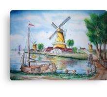 Dutch Sails Canvas Print