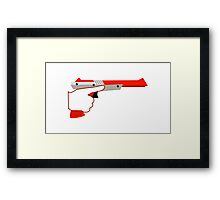 Trigger Discipline NES Zapper Framed Print
