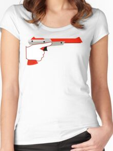 Trigger Discipline NES Zapper Women's Fitted Scoop T-Shirt