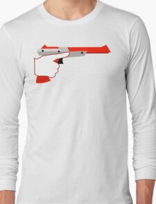 Trigger Discipline NES Zapper Long Sleeve T-Shirt