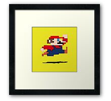 """It's a-me, Mario!""  Framed Print"