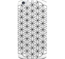 Flower of Life White iPhone Case/Skin
