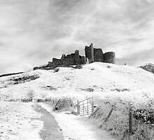 Castle Carreg Cennen by Mark Jones