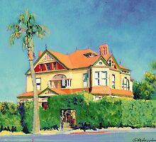 Timken Mansion San Diego California  by RDRiccoboni