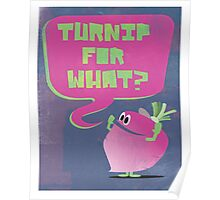 Turnip For What Poster