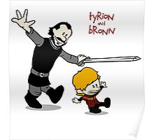 Tyrion and Bronn- Game of Thrones Shirt Poster