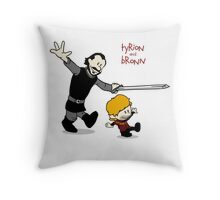 Tyrion and Bronn- Game of Thrones Shirt Throw Pillow