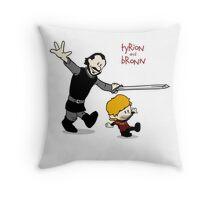 Tyrion and Bronn- Game of Thrones Shirt Throw Pillow