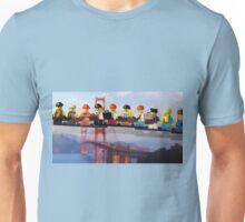 High-rise lunch break, Golden Gate Bridge Unisex T-Shirt