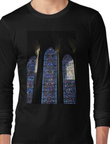 Stained Glass and Stained Souls Long Sleeve T-Shirt