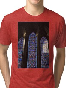 Stained Glass and Stained Souls Tri-blend T-Shirt